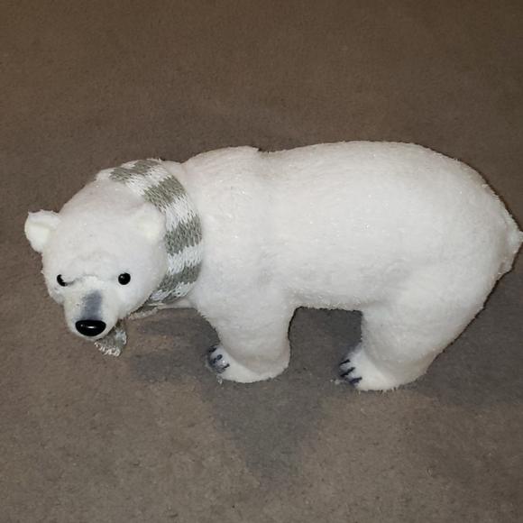 Cute Polar Bear Holiday Decoration From Pier 1